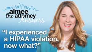 VIDEO: Interview with Maureen Brady About HIPAA Violations