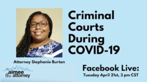 Criminal Courts During COVID-19 – Stephanie Burton on the Jackson County Court System During Coronavirus
